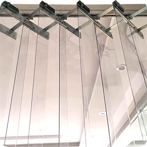 Foldable PVC Strip Curtain